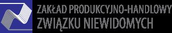 ZPH ZWIĄZKU NIEWIDOMYCH – producent szczotek Logo